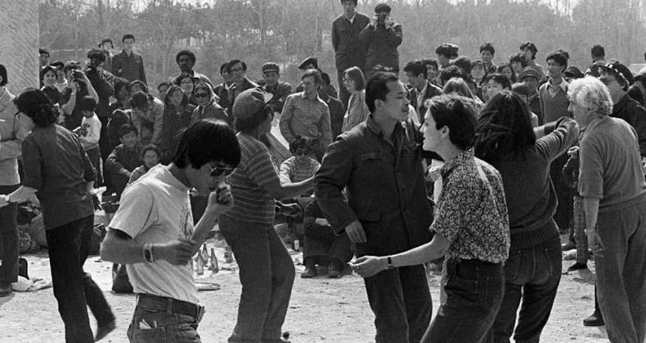 相片:由李曉斌攝於圓明園,1980年